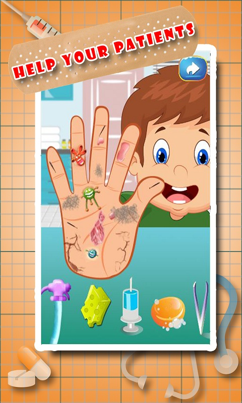 Little Hand Doctor – Kids Game