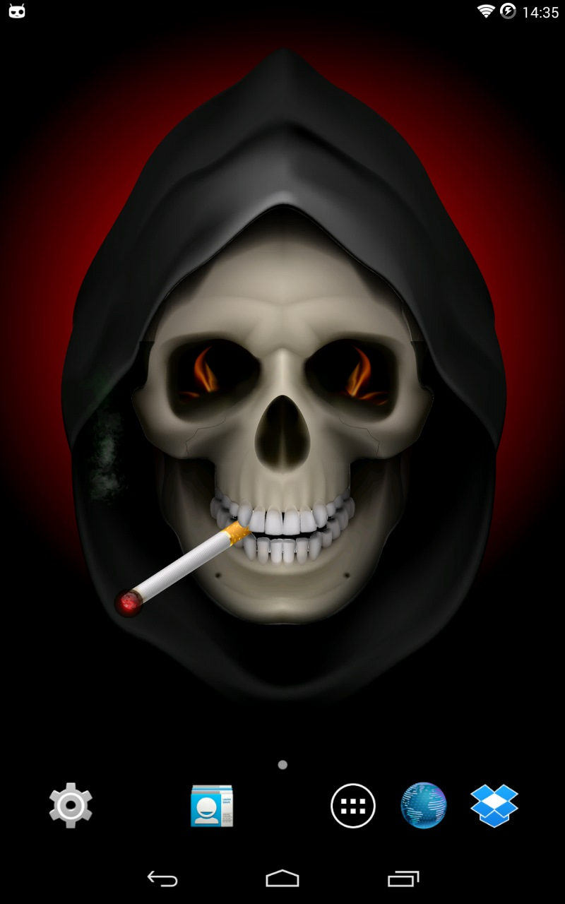 Live skull