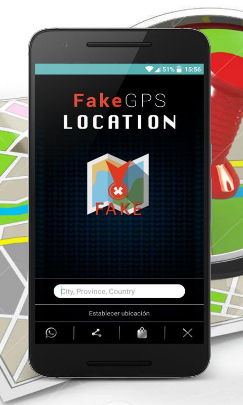 Location false social networks