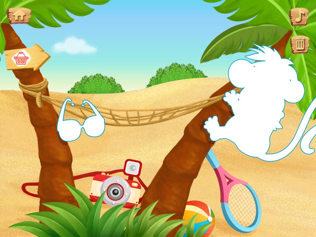 Lola's Beach Puzzle FREE