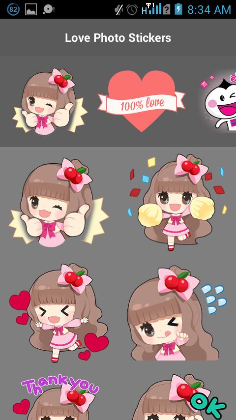 Love Photo Stickers