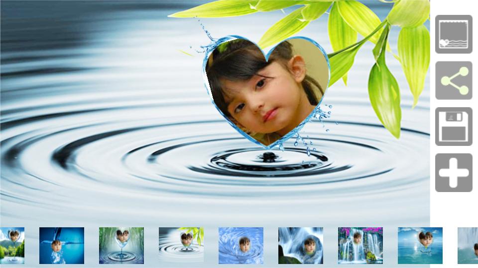 love water photo frames