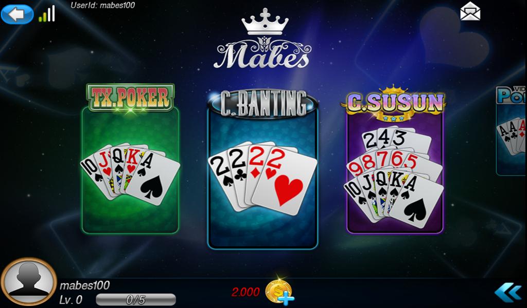 MabesKartu Capsa Poker