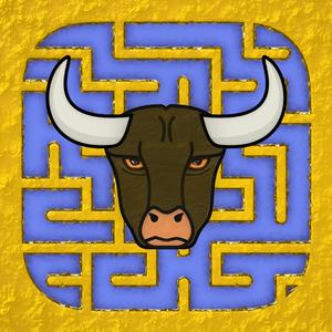 Mad Cows' Maze