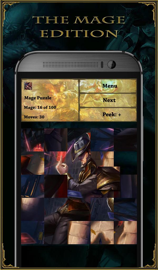 Mage Puzzle – League of Legends