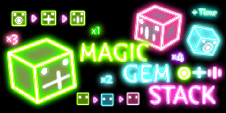 Magic Gem Stack
