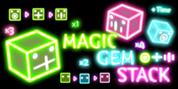 Magic Gem Stack