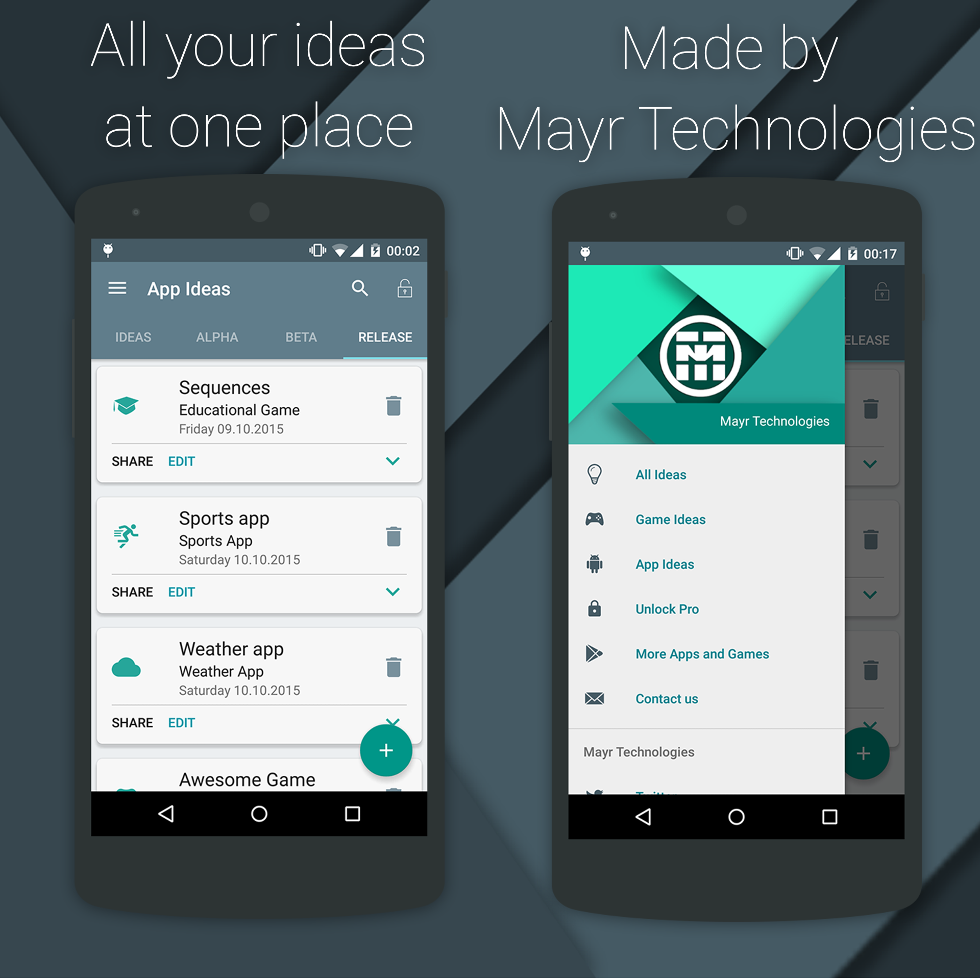 Material App Manager