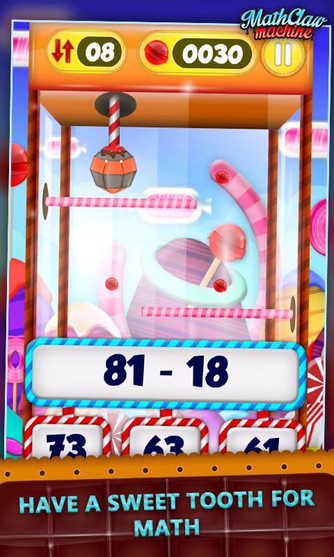 Math Claw Machine: Sweet Games