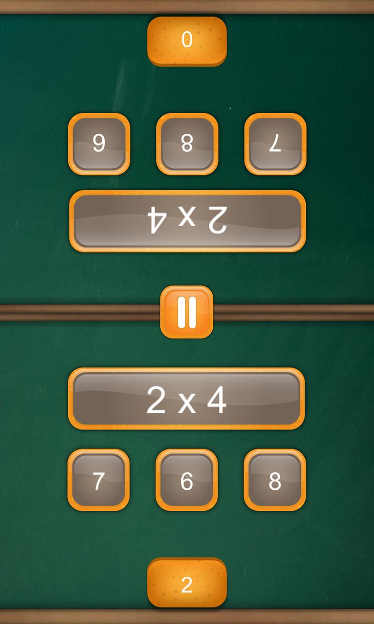 Math Duel: 2 Player Math Game