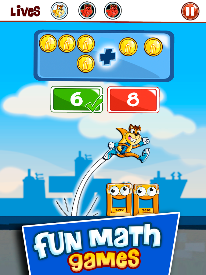 Math Games for kids: Addition Subtraction Numbers