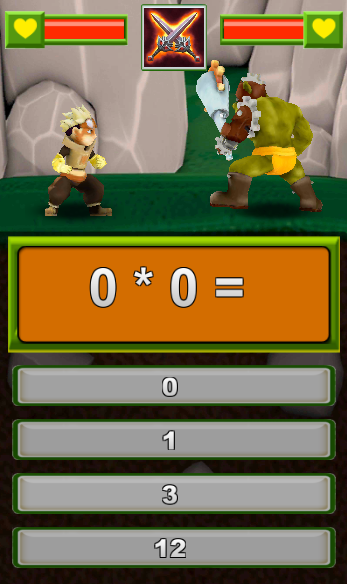 Math vs monsters