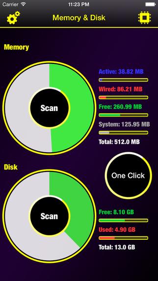 Memory & Disk Scanner Pro
