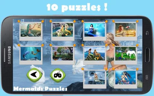 Mermaids Puzzles for girls