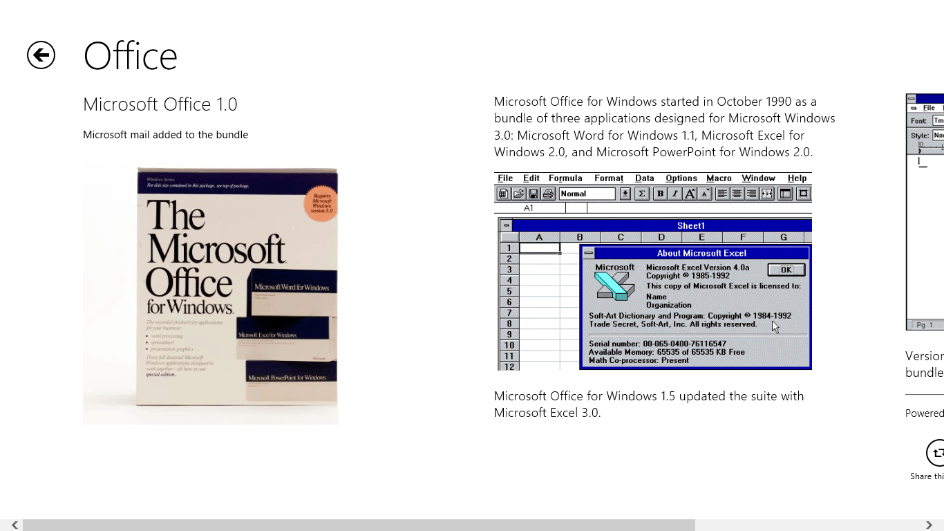 Microsoft History