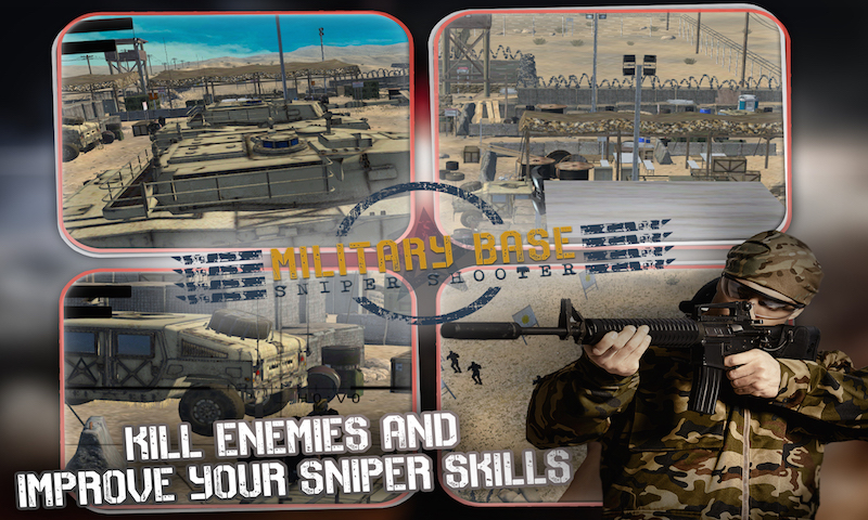 Military Base Sniper Shooter