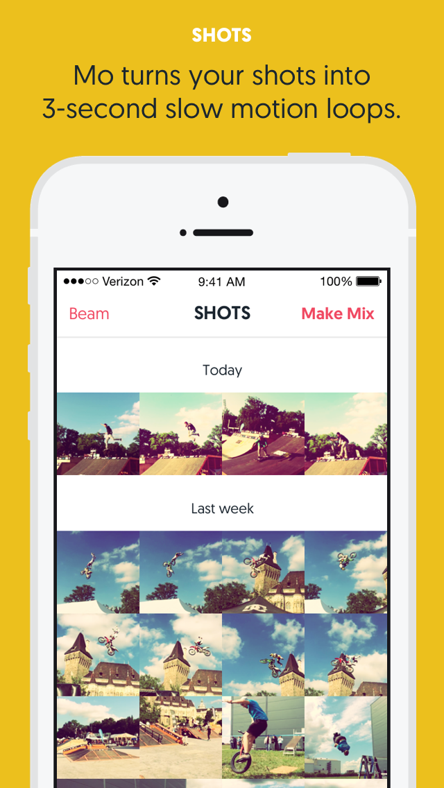 Mo: Slow Motion Photos & GIF Loops For Your Action Moments