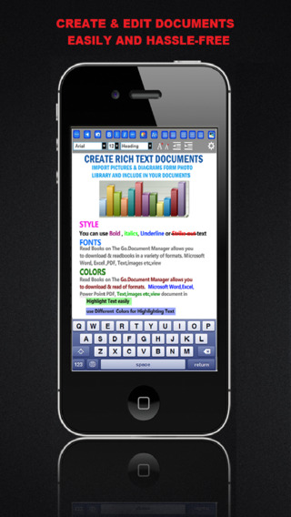 MobileOffice – Word Processor and Reader for Microsoft Office