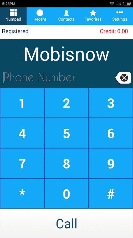 MobiSIP Android SIP Dialer
