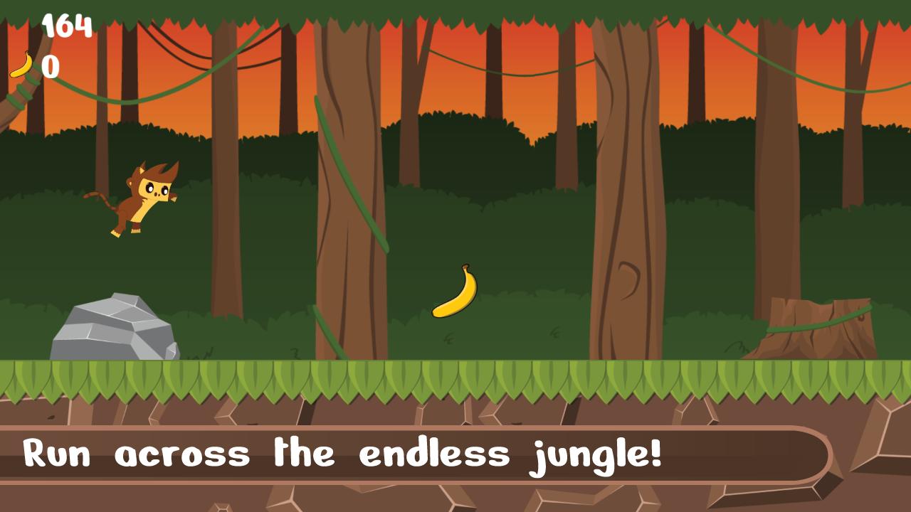Monkey Jungle Runner