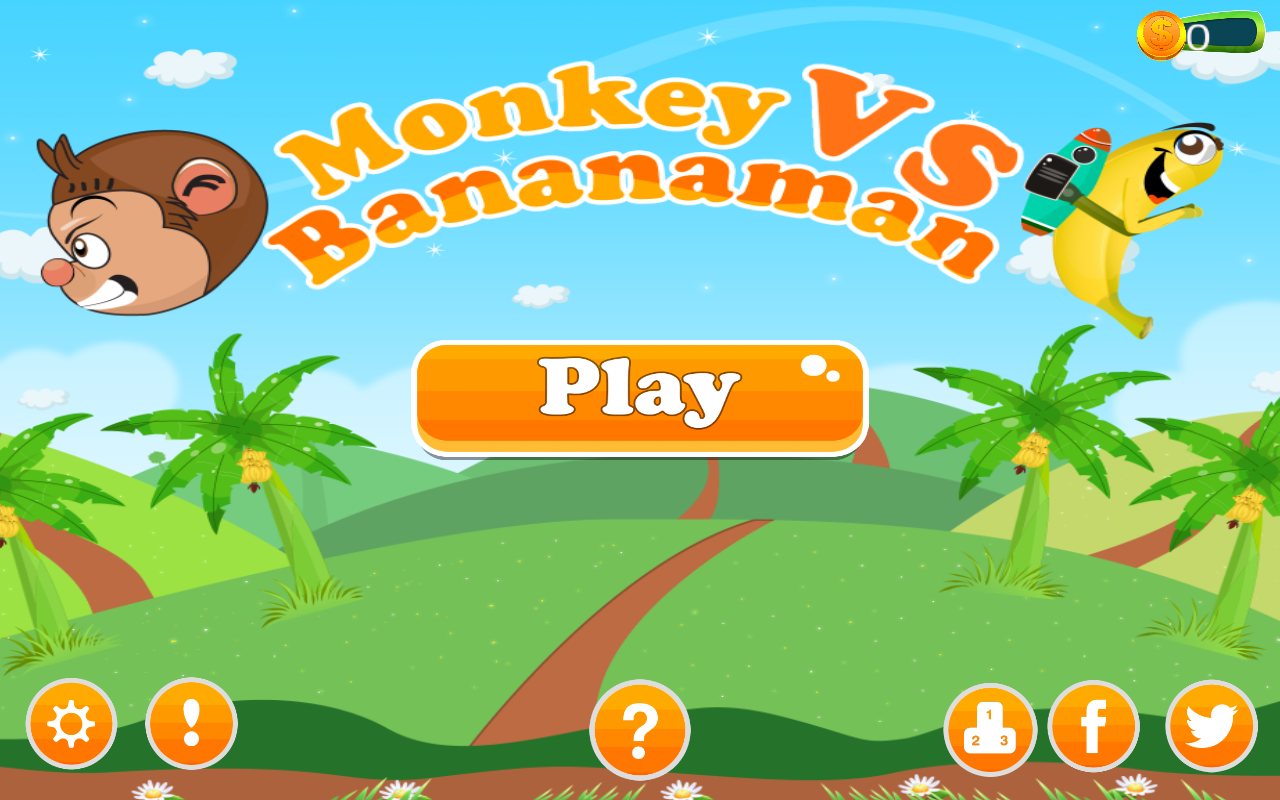 Monkey Vs. Bananaman