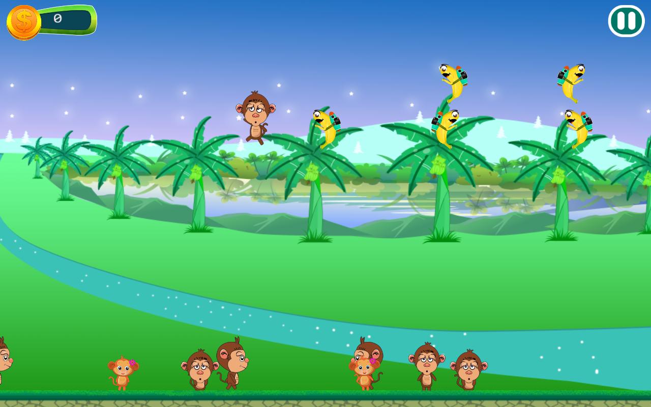 Monkey Vs. Bananaman