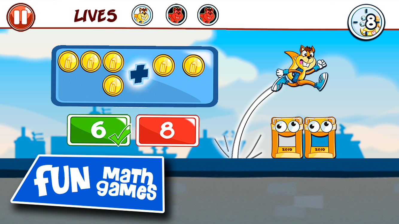 Monster Numbers: Math adventure for kids in elementary school