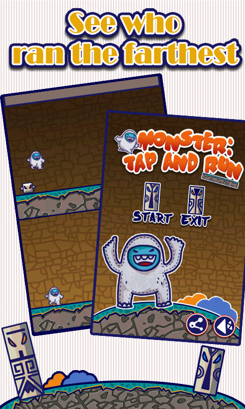 Monster Tap and Run