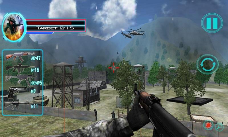 Mountain Commando Survivor 3D