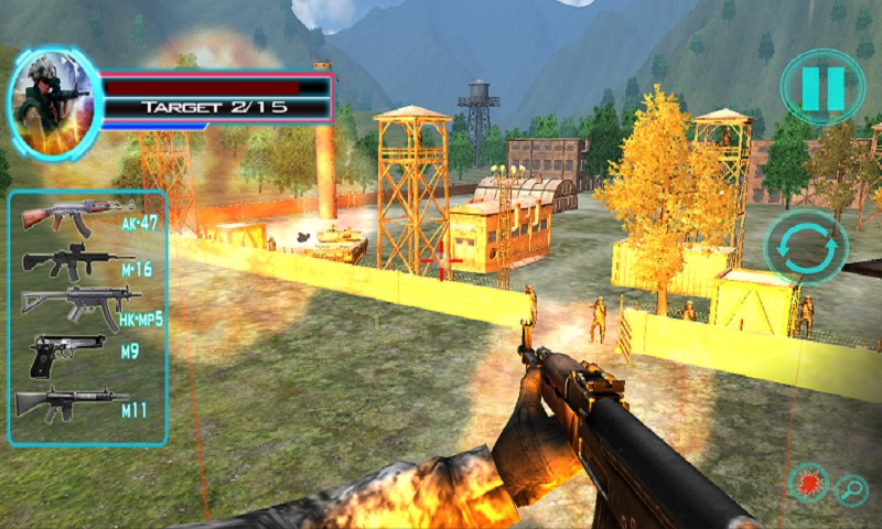 Mountain Commando Survivor 3D