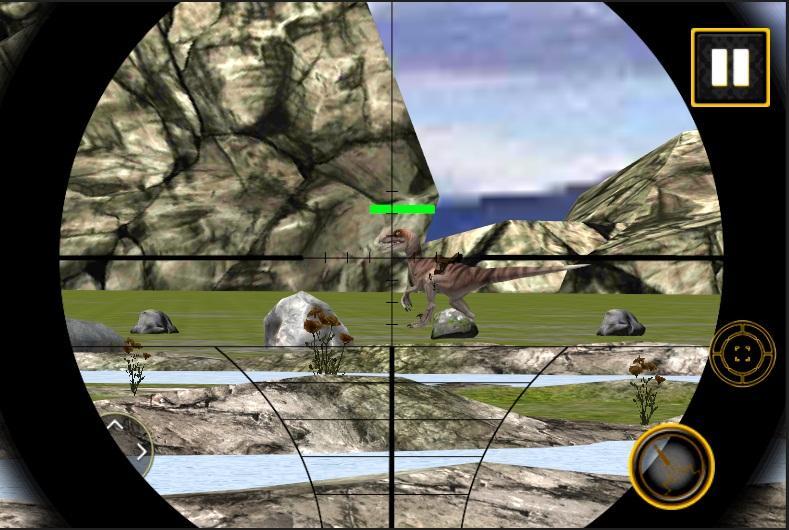 Mountain Dino Shooting