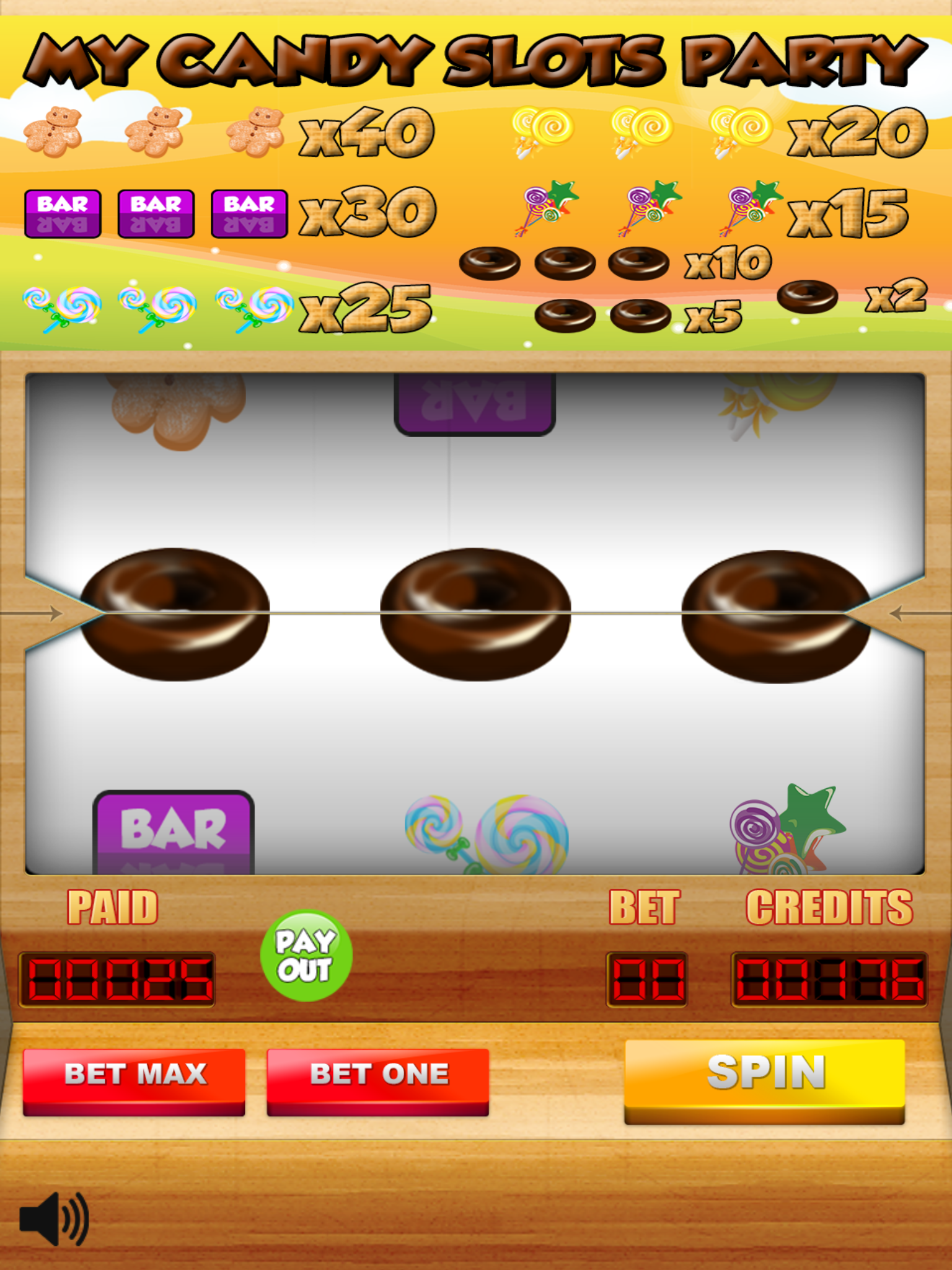 My Candy Slots Party