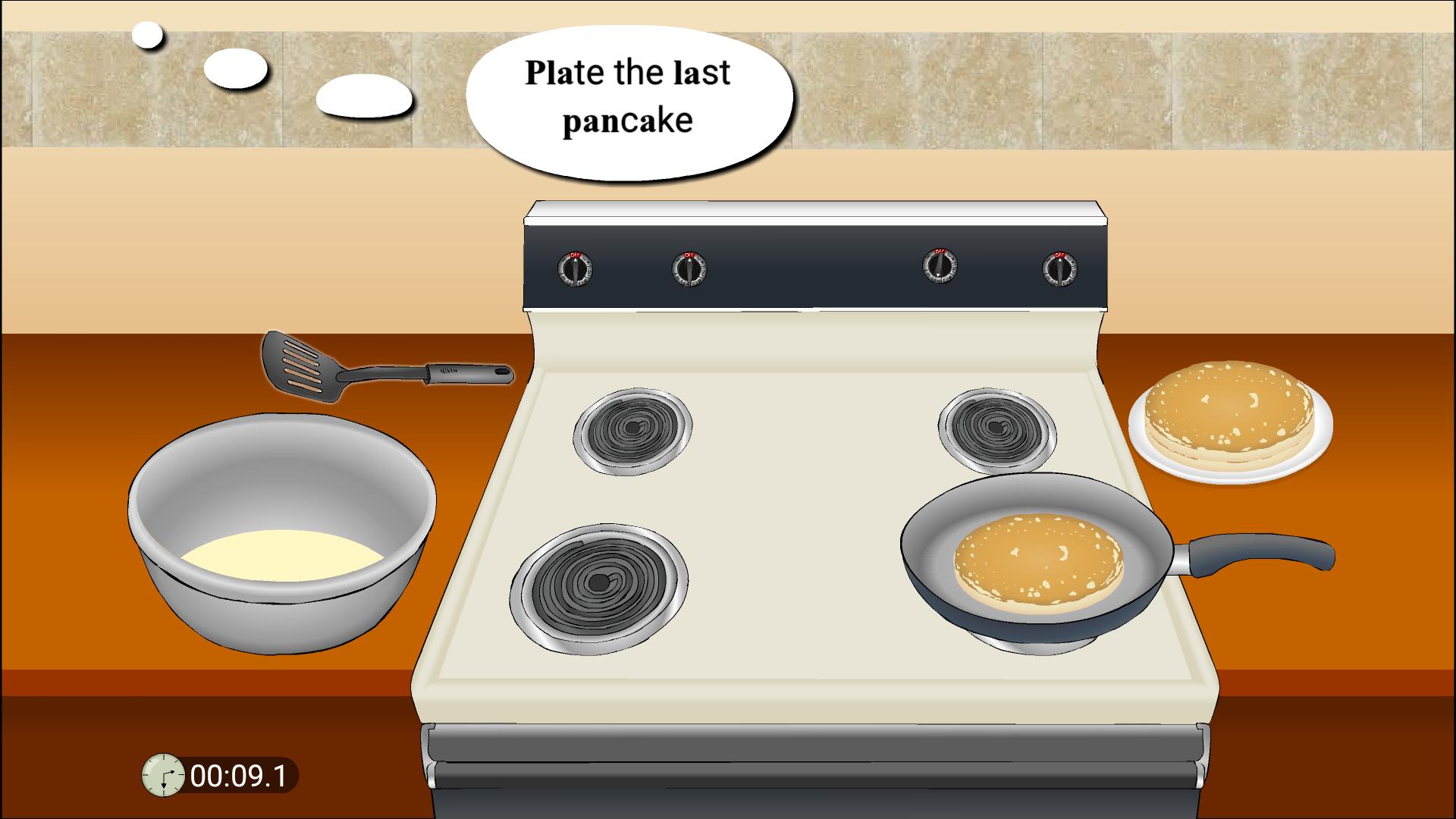 My Kitchen: Cooking Pancakes