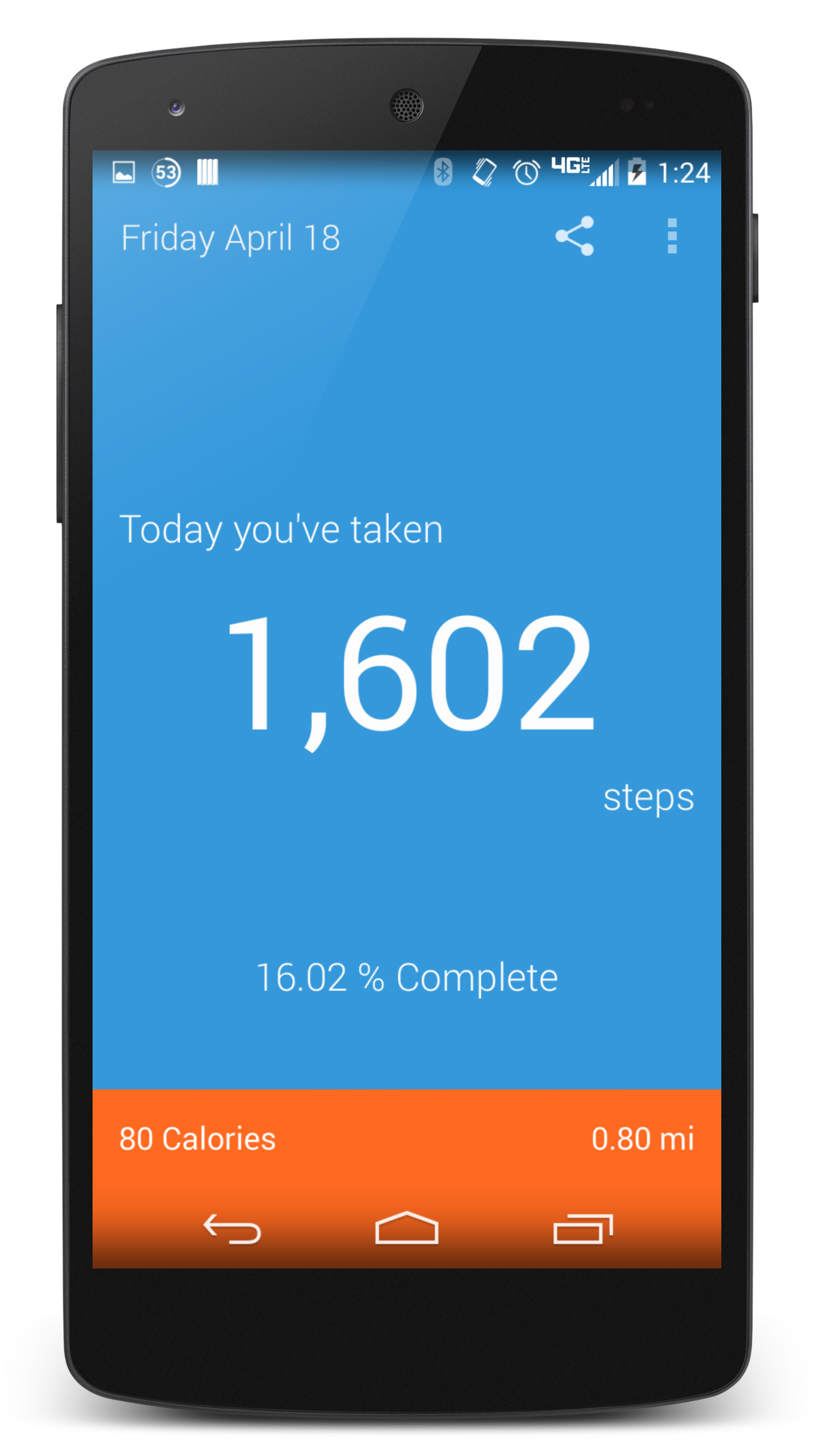My StepCounter