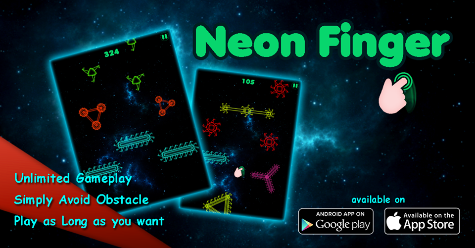 Neon Finger – Fighter