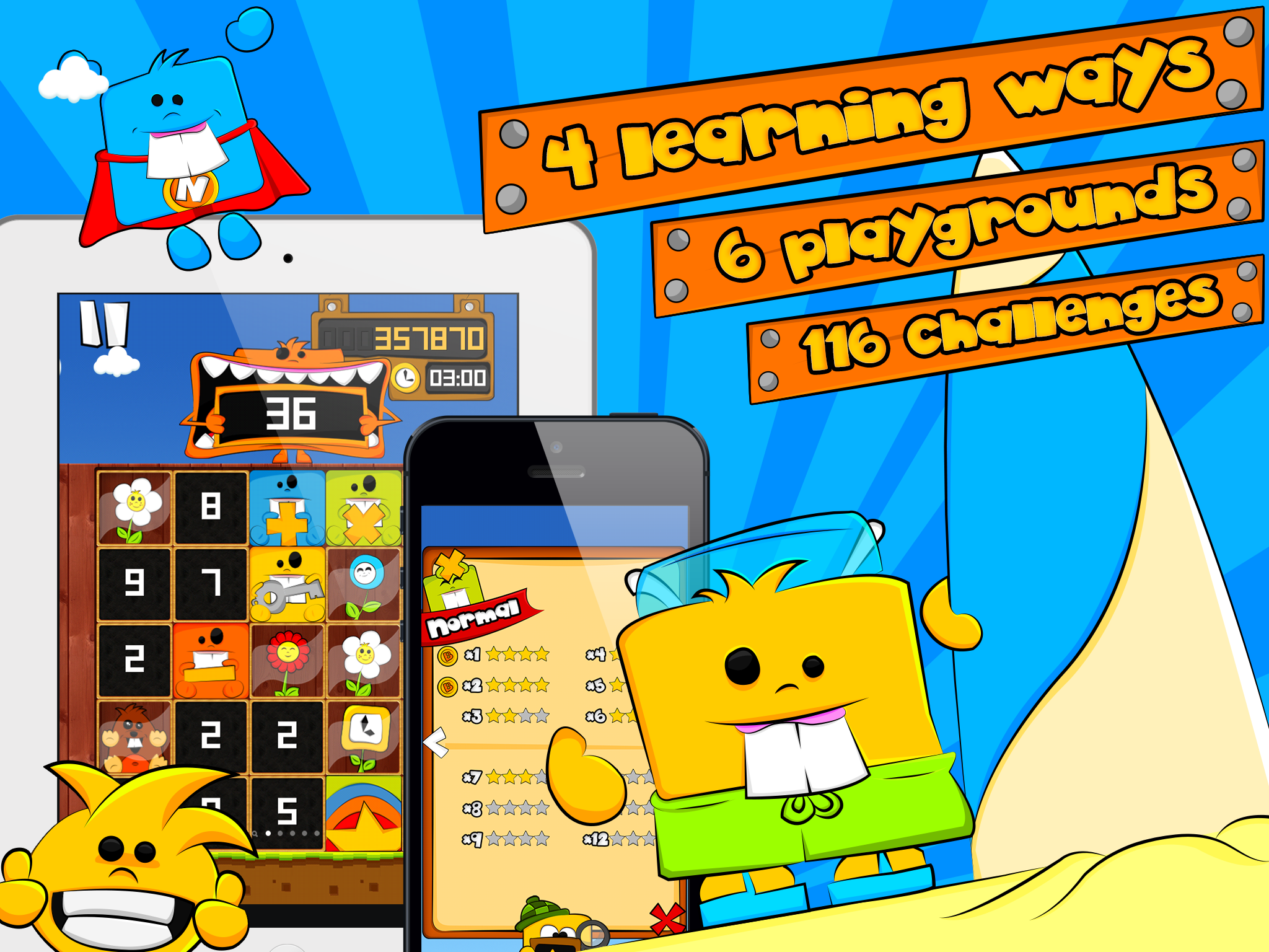 Numbees and the world of math
