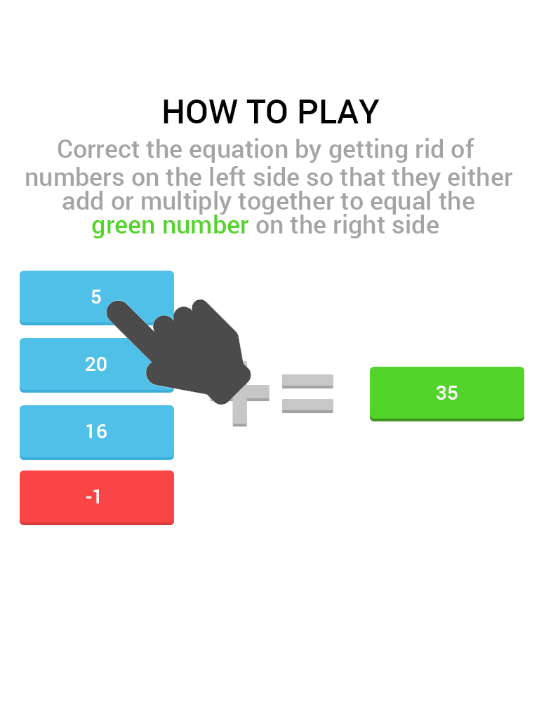 Number Smash: Quick Brain Math Game