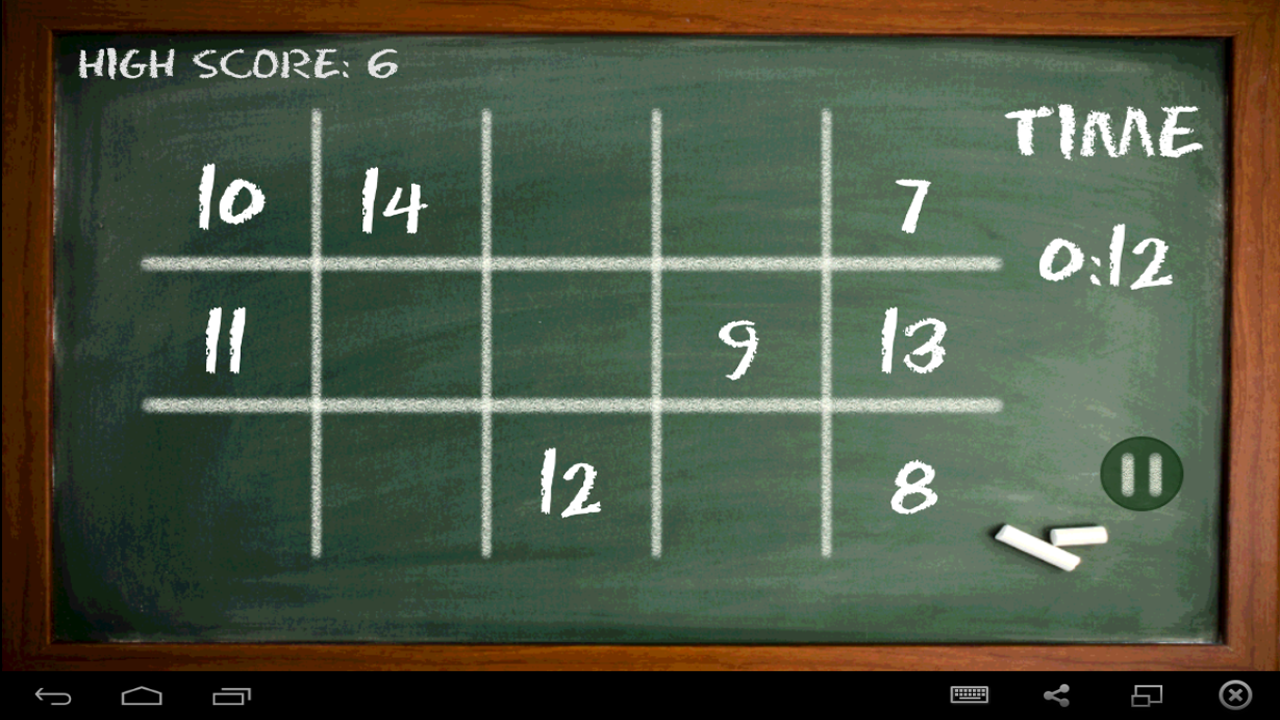 NumBoard – Number Game