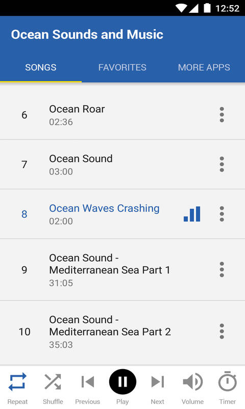 Ocean Sounds and Music