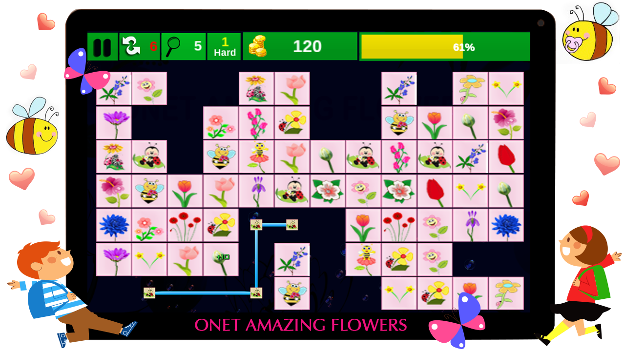 Onet Amazing Flowers
