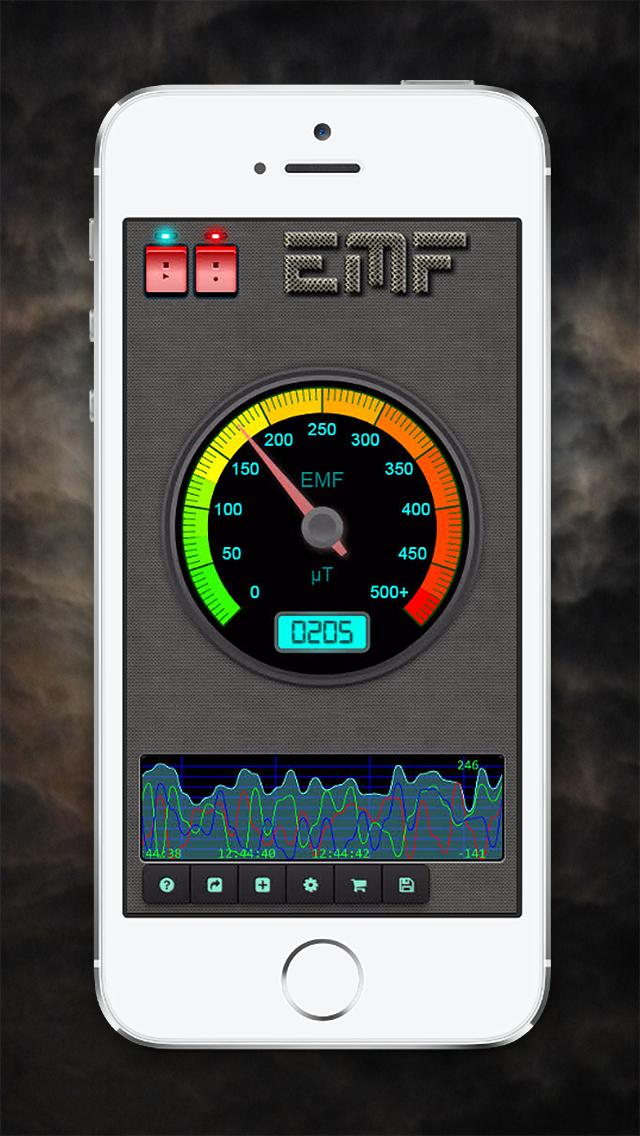 Paranormal EMF Recorder