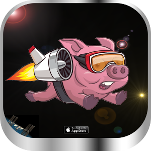 Pepper The Flying Pig