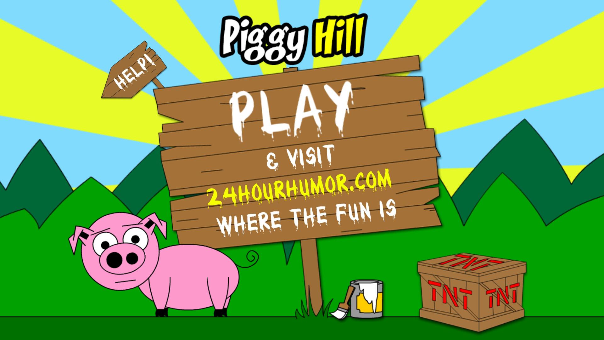 Piggy Hill!