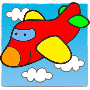 Planes Puzzles for kids