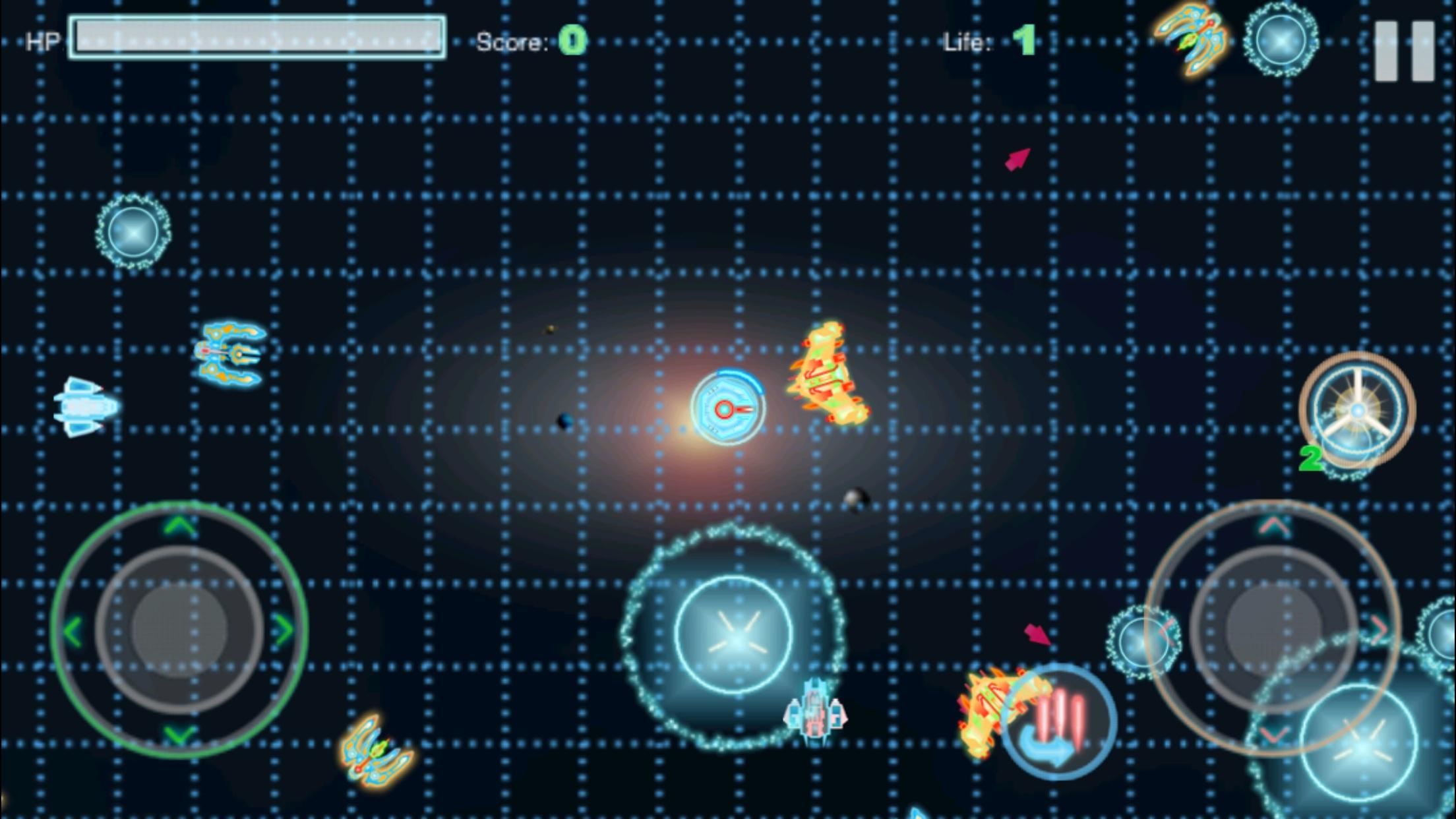 Polygon Flight : Space Combat