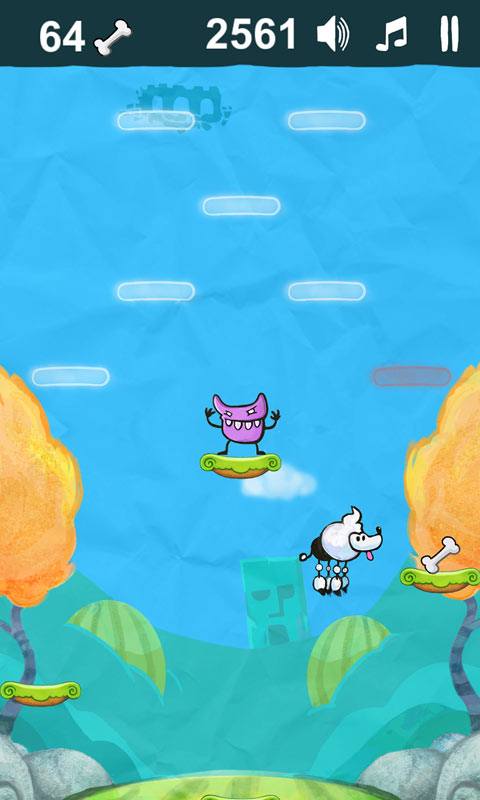 Poodle Jump – Fun Jumping Games