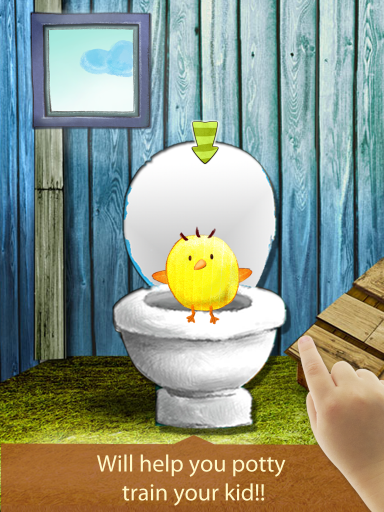 Potty Training Learning with the animals