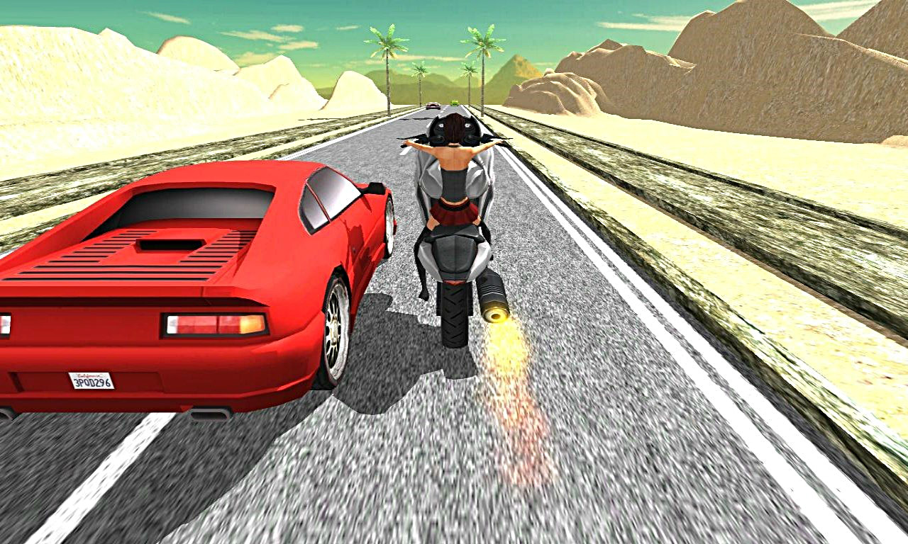 Power Moto Traffic Racer
