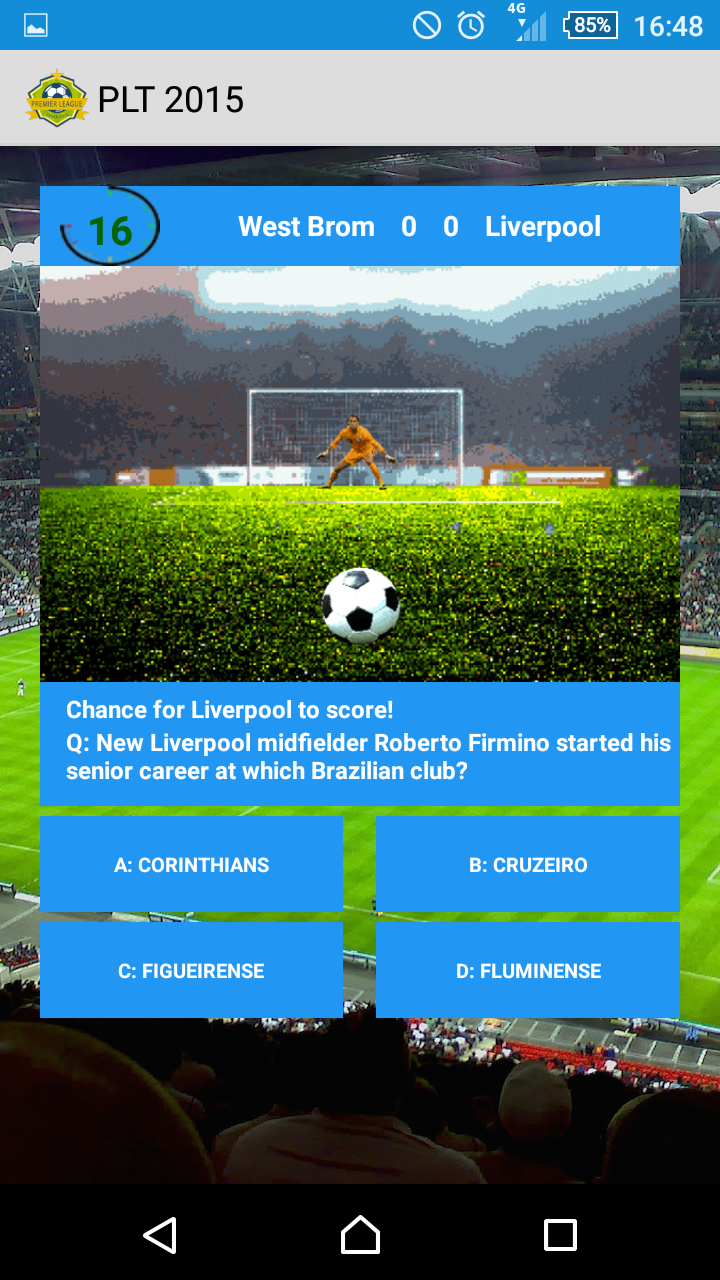 Premier League Trivia 15 Free