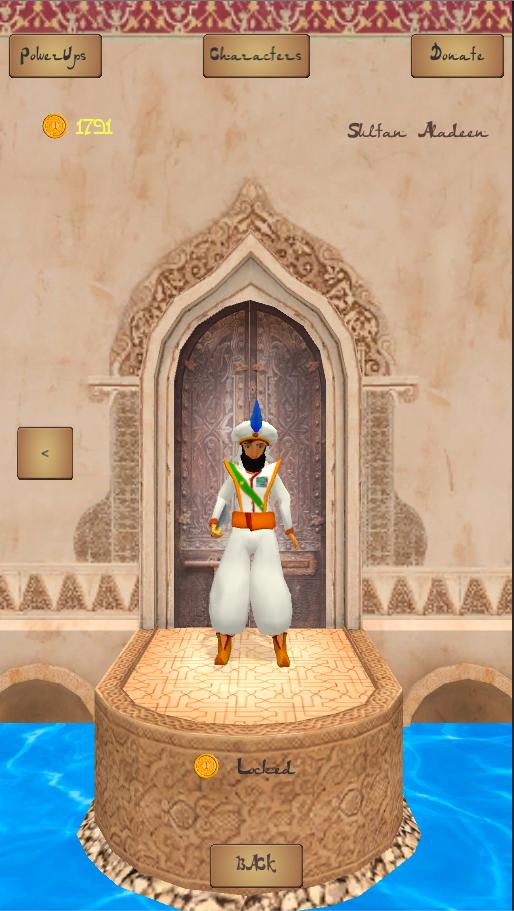 Prince Aladdin Runner